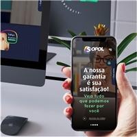 GRAFICA SOPOL, Logo em 3D, Marketing & Comunicação