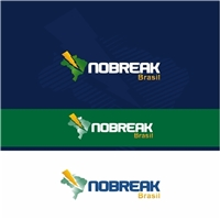 Nobreak Brasil, Logo e Cartao de Visita, Metal & Energia