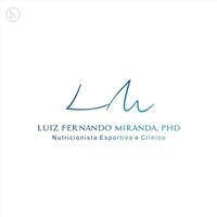 Luiz Fernando Miranda, PhD, Logo e Cartao de Visita, Saúde & Nutrição