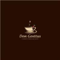 Don Gosttus/ Confeitaria & Café, Logo e Cartao de Visita, Alimentos & Bebidas