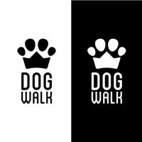 Dog Walk, Logo e Cartao de Visita, Animais