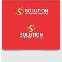 Solution Investimentos Imobiliários, Logo e Cartao de Visita, Imóveis