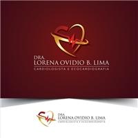 Dra Lorena Ovidio B. Lima Cardiologista e ecocardiografia, Logo, Saúde & Nutrição