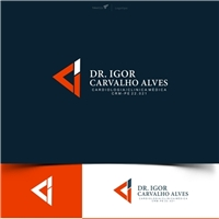 Dr. Igor Carvalho Alves, Logo e Cartao de Visita, Saúde & Nutrição