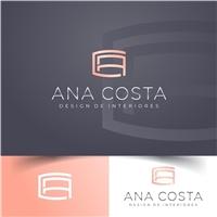 Ana Costa Design de Interiores, Logo e Cartao de Visita, Arquitetura