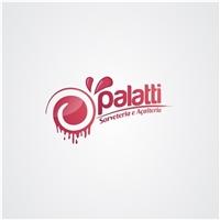 Palatti, Logo e Cartao de Visita, Alimentos & Bebidas