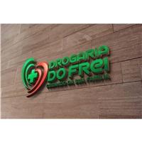 Drogaria do Frei, Logo e Cartao de Visita, Saúde & Nutrição