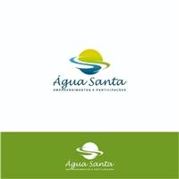 Água Santa S/A – Empreendimentos e Participações, Logo e Cartao de Visita, Ambiental & Natureza