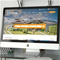 queromemudar.com.br, Logo em 3D, Imóveis