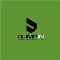 Dump In , dumpster services inc , Logo e Cartao de Visita, Construção & Engenharia