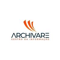 Archivare Guarda de Documentos, Logo e Cartao de Visita, Logística, Entrega & Armazenamento