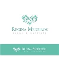 Regina Medeiros - Nutricionista, Logo e Cartao de Visita, Saúde & Nutrição