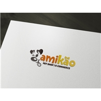 AMIKÃO PET SHOP , Logo, Animais