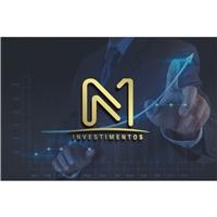 N1 INVESTIMENTOS, Logo e Cartao de Visita, Consultoria de Negócios