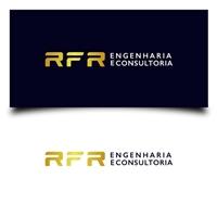 RFR Consultoria, Logo, Construção & Engenharia