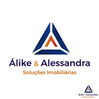 Álike & Alessandra - Soluções Imobiliárias, Logo, Imóveis