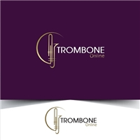 Trombone Online, Tag, Adesivo e Etiqueta, Música