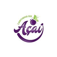 Cantinho do Açaí, Tag, Adesivo e Etiqueta, Alimentos & Bebidas