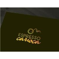 ESPRESSO CARIOCA, Tag, Adesivo e Etiqueta, Alimentos & Bebidas