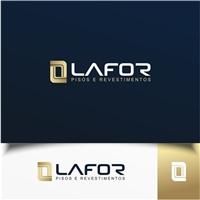 LAFOR REVESTIMENTOS, Logo e Cartao de Visita, Construção & Engenharia