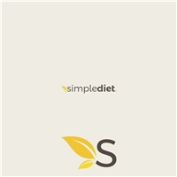 Simple diet, Logo, Alimentos & Bebidas
