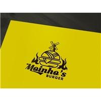 Moinho's - Burger, Logo, Alimentos & Bebidas