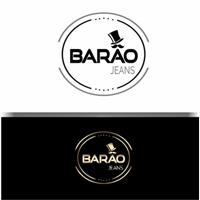 Barão jeans, Tag, Adesivo e Etiqueta, Roupas, Jóias & acessórios