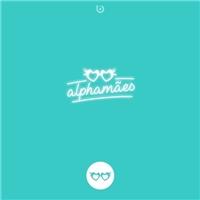 alphamães , Tag, Adesivo e Etiqueta, Artes, Música & Entretenimento