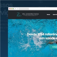 Dr Leandro Rosa, Cartão de visita, Saúde & Nutrição
