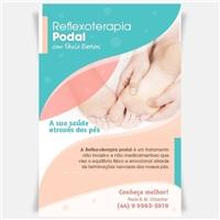 Reflexoterapia podal, Papelaria + Manual Básico, Saúde & Nutrição
