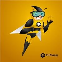 Hi Bee Apps, Logo, Tecnologia & Ciencias