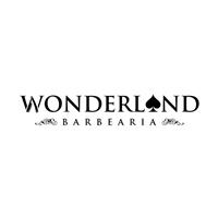 Wonderland - Barbearia , Tag, Adesivo e Etiqueta, Beleza