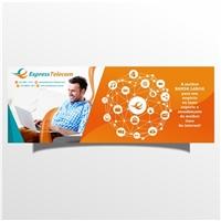 Express Telecom Ltda Me , Redesign de site, Computador & Internet