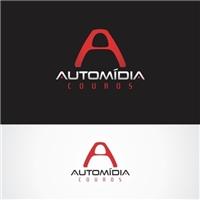 AUTOMIDIA COUROS, Logo e Cartao de Visita, Automotivo