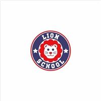 Lion School, Tag, Adesivo e Etiqueta, Educação & Cursos