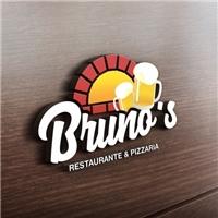 BRUNO´S Restaurante e Pizzaria, Tag, Adesivo e Etiqueta, Alimentos & Bebidas