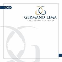 DR. GERMANO LIMA CIRURGIÃO PLÁSTICO, Tag, Adesivo e Etiqueta, Beleza