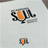 Academia Soul, Tag, Adesivo e Etiqueta, Música