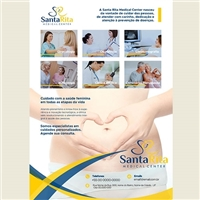 Santa Rita Medical Center/ Dra. Adriana Cardoso Santos, Papelaria + Manual Básico, Saúde & Nutrição
