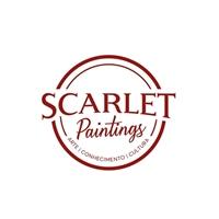 Scarlet Paintings, Tag, Adesivo e Etiqueta, Artes, Música & Entretenimento