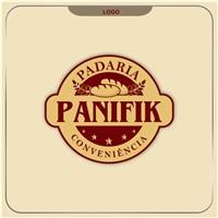 Identidade para padaria, em estudo o nome Panifik e com o nome padok, Logo, Alimentos & Bebidas