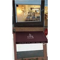 Café com Cacau, Layout para Website, Alimentos & Bebidas