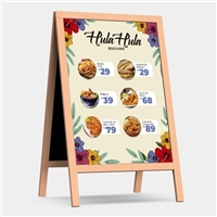 Hula Hula, Layout para Website, Alimentos & Bebidas