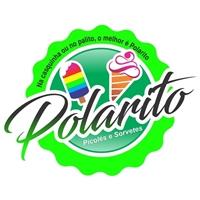 picolé e sorvete  POLARITO, Logo, Alimentos & Bebidas