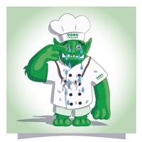 Ogro Vegano Ind. e Com. de Alimentos Ltda., Anúncio para Revista/Jornal, Alimentos & Bebidas