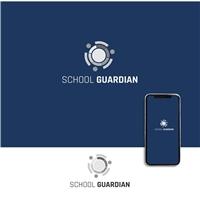 School Guardian, Logo e Cartao de Visita, Educação & Cursos