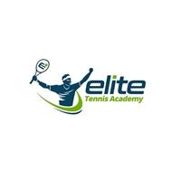 Elite Tennis Academy, Logo e Cartao de Visita, Esportes