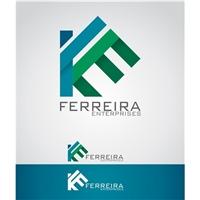 Ferreira Enterprises, Logo e Cartao de Visita, Construção & Engenharia