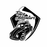 """TSO Brasil é o nome da empresa, o nome do projeto é """"Fusca Adventure"""", Logo e Cartao de Visita, Automotivo"""