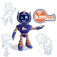 KimNet, Anúncio para Revista/Jornal, Computador & Internet